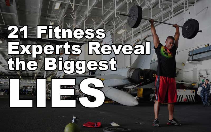 Fitness Lies Header Image
