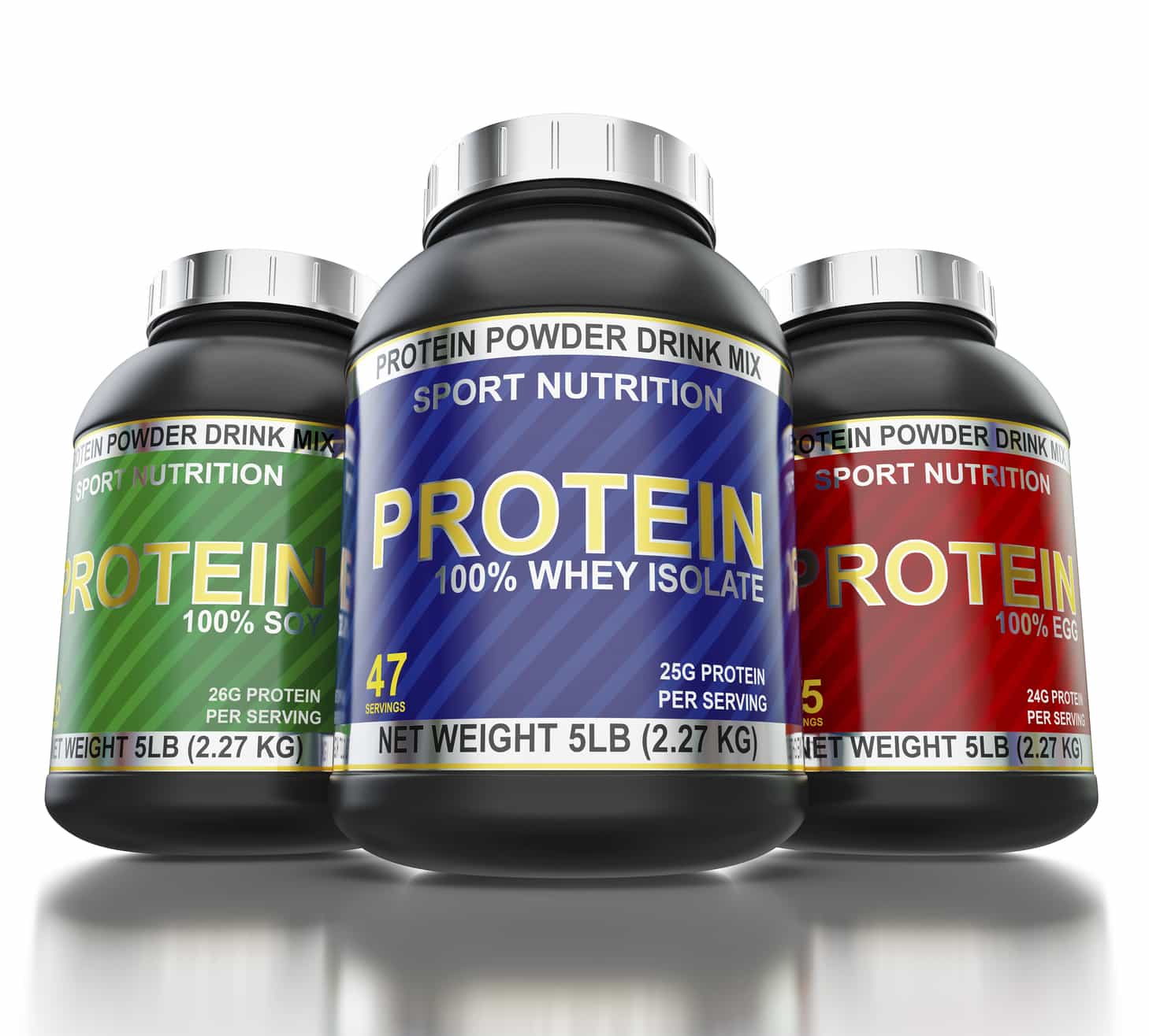 What's Whey Protein Containers