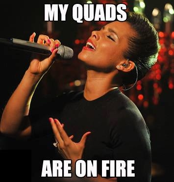 Improve Bench Press Quads on Fire