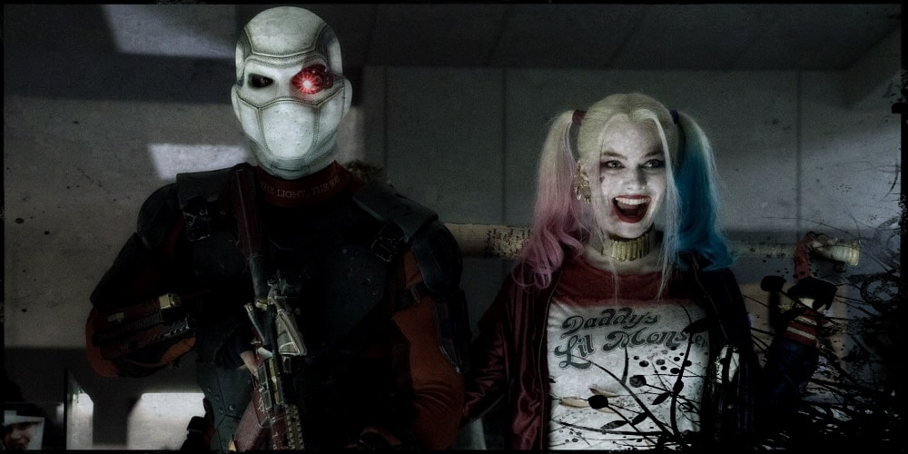 Scuicide Squad Deadshot Harley Quinn