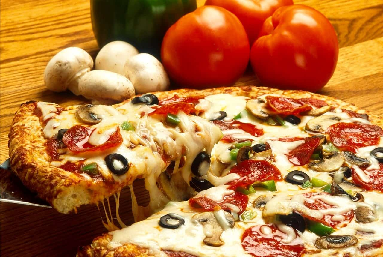 Recommended carb intake pizza