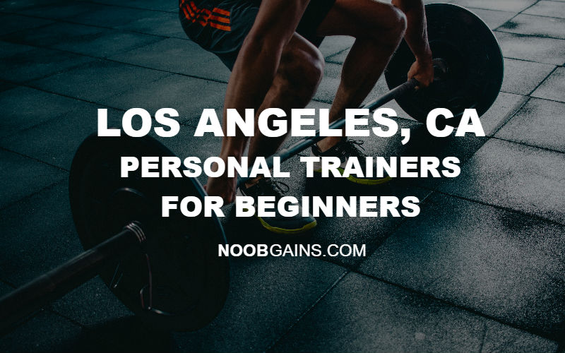 Los Angeles CA Personal Trainers for Beginners Header