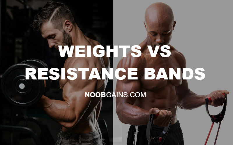 Weights vs Resistance Bands Pic
