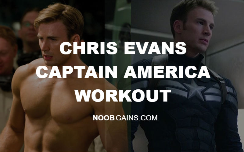 chris evans captain america workout routine image