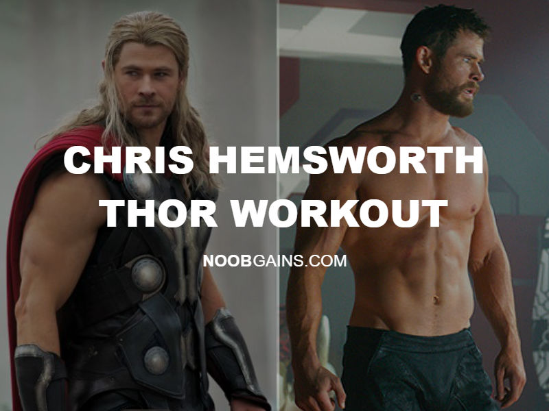 chris hemsworth thor workout routine pic