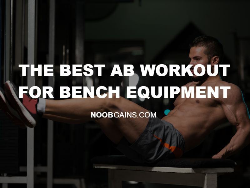 Ab workout for bench image