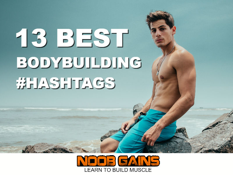 Bodybuilding hashtags image