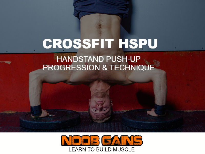 Crossfit hspu progression image