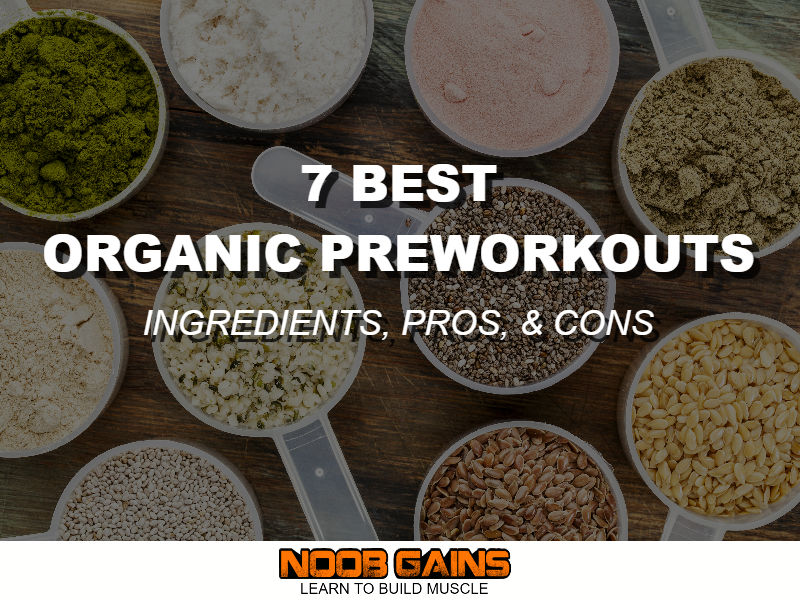 Best Green Superfood Powder 2020.7 Best Organic Pre Workout Supplements 2020 Reviews Noob