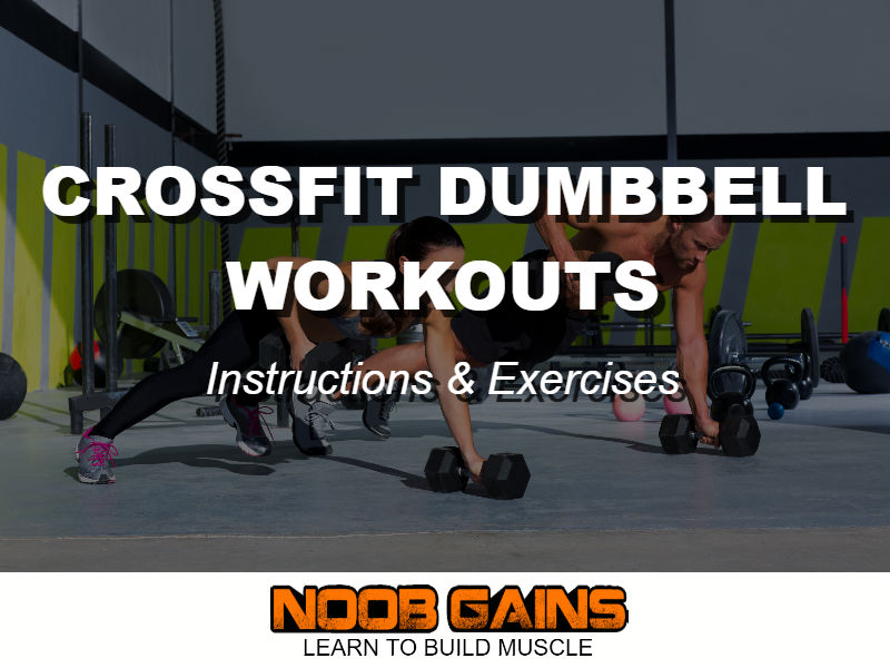 Crossfit dumbbell workouts exercises image