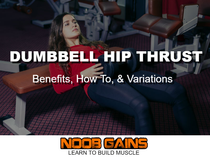 Dumbbell hip thrust image