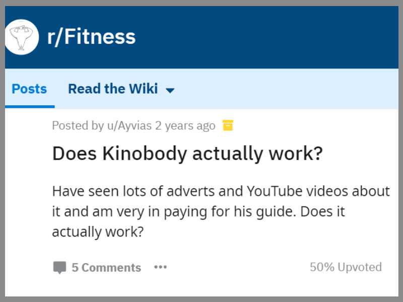 Kinobody Review for 2019: Legit Programs or a Scam? | NOOB GAINS