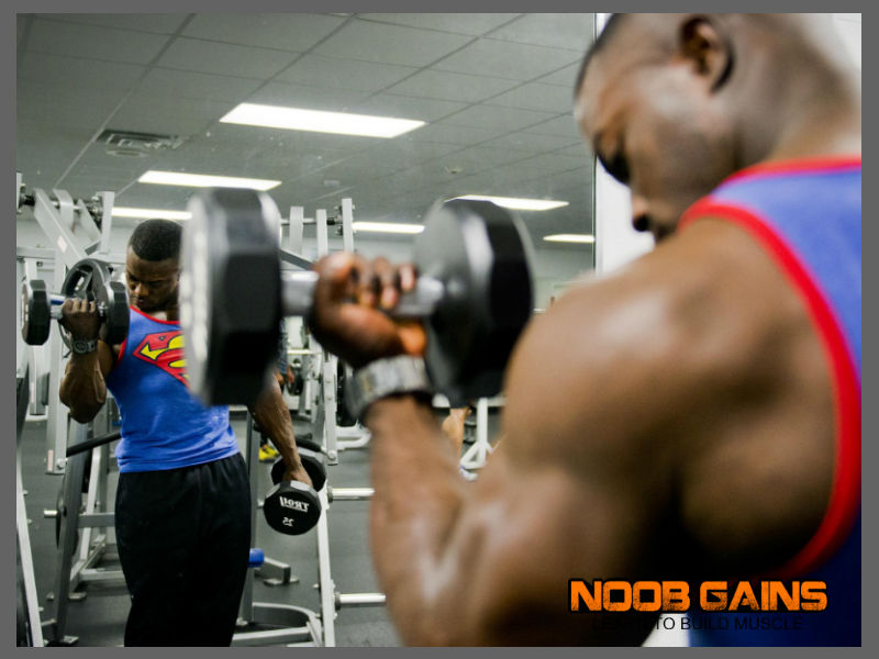 Superhero workout routine image
