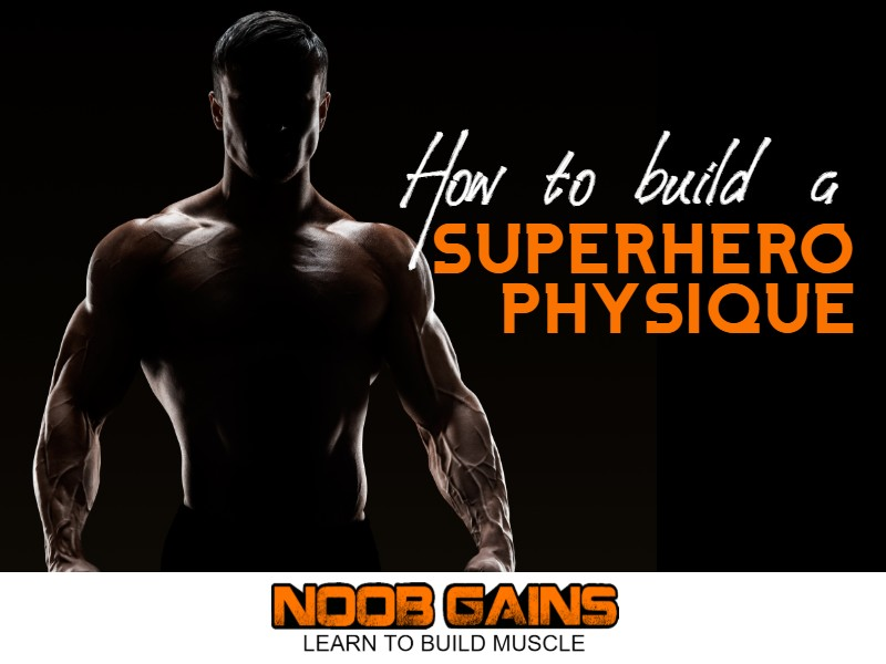 Superhero physique image