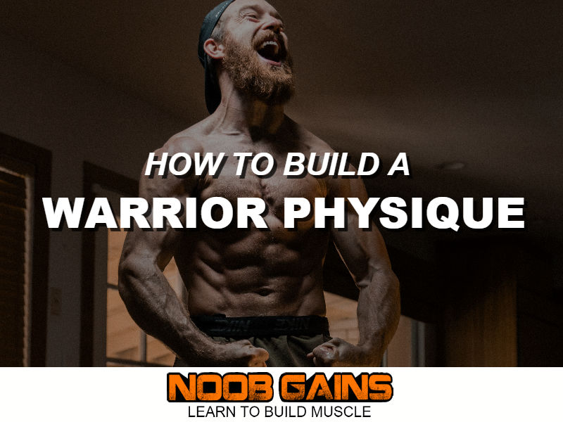 Warrior physique image