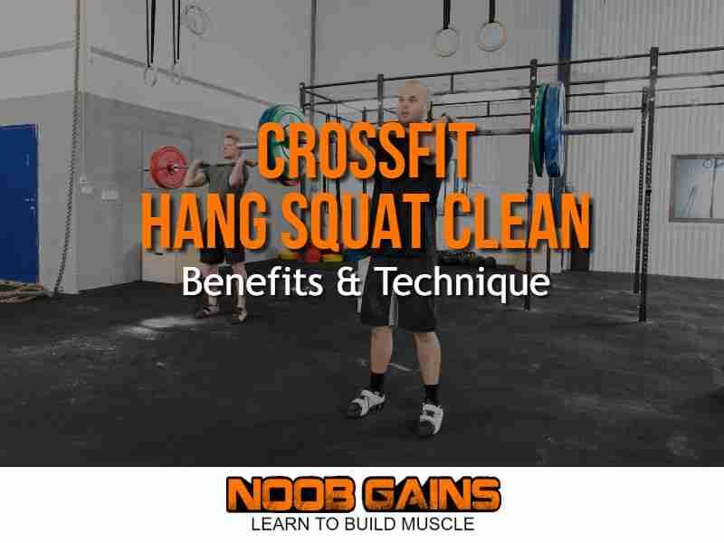 Crossfit hang squat clean image