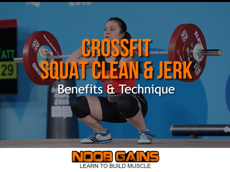 Crossfit squat clean and jerk image