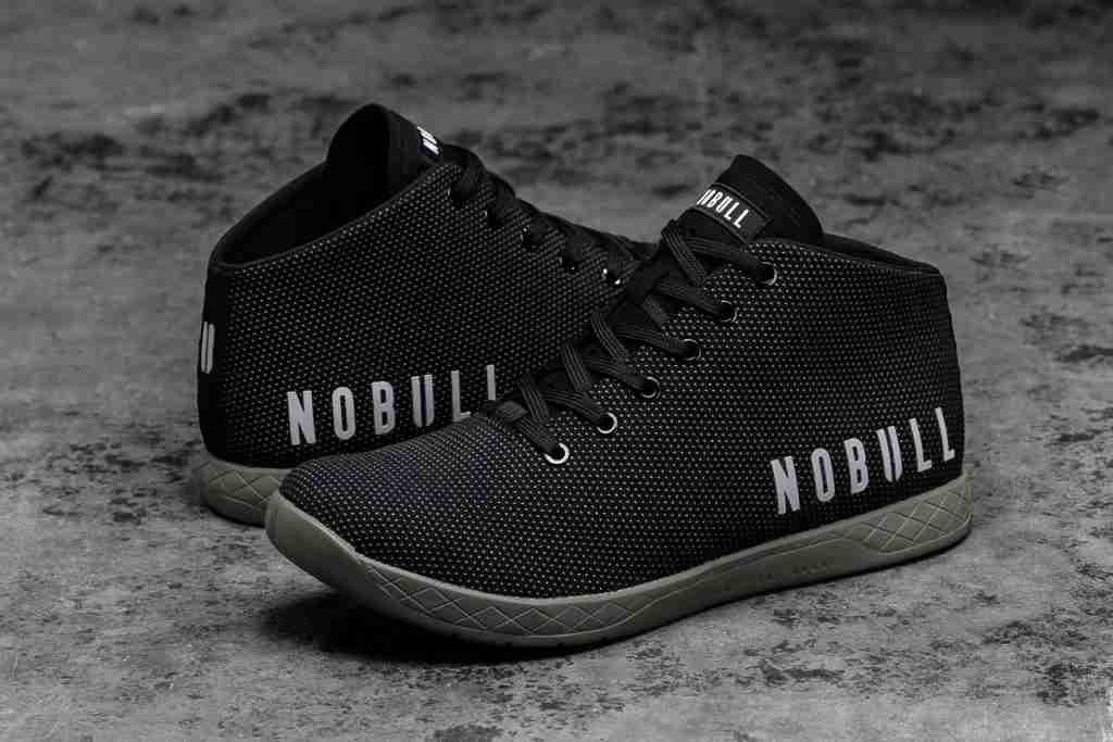 Nobull mid trainer shoe image
