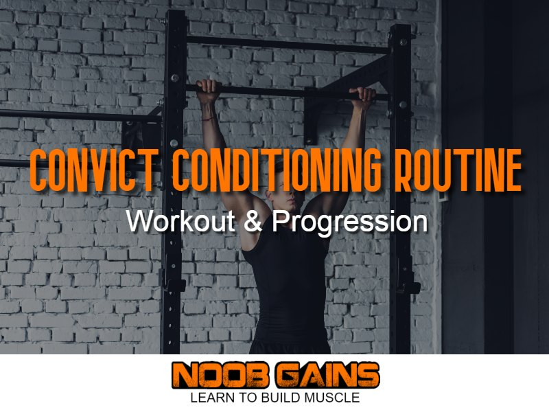 Convict conditioning routine image