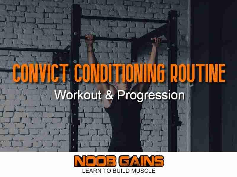 Convict conditioning routine image