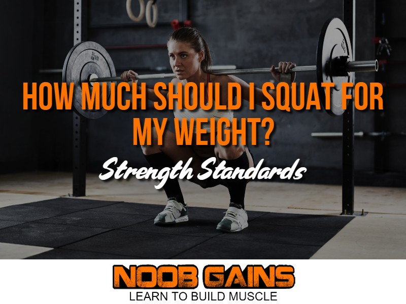 How much should i squat for my weight image