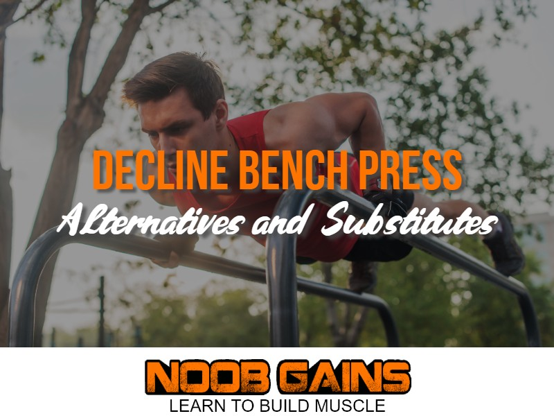 Decline bench press alternatives image