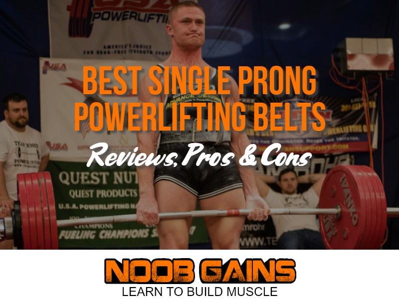 Single prong powerlifting belt image