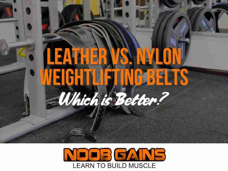 Weight lifting belt leather or nylon image