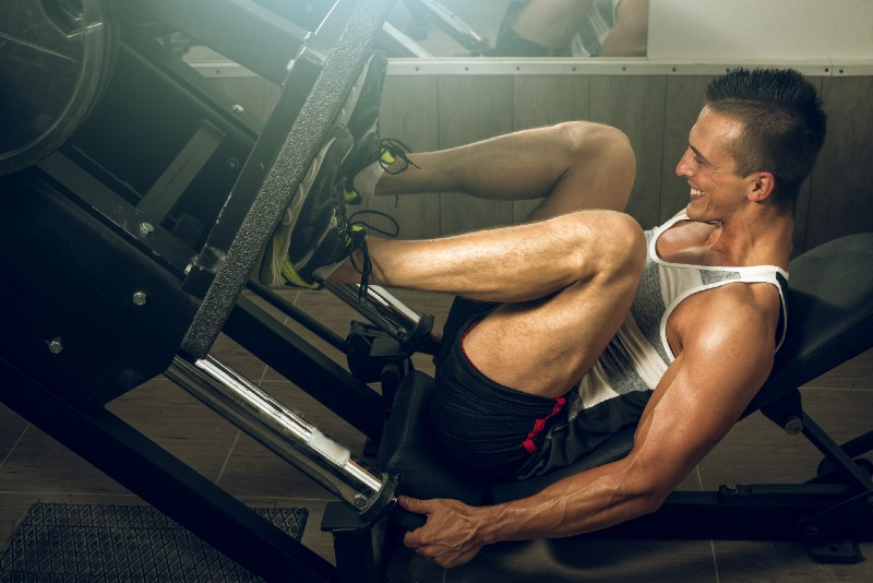 What is leg press good for image