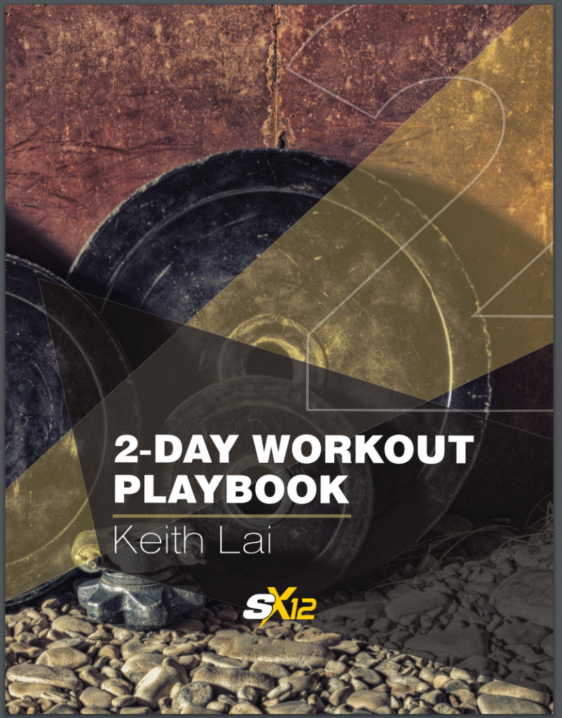 Superhero x12 2 day workout playbook image