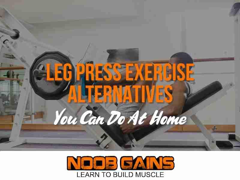 Alternative exercise for leg press image