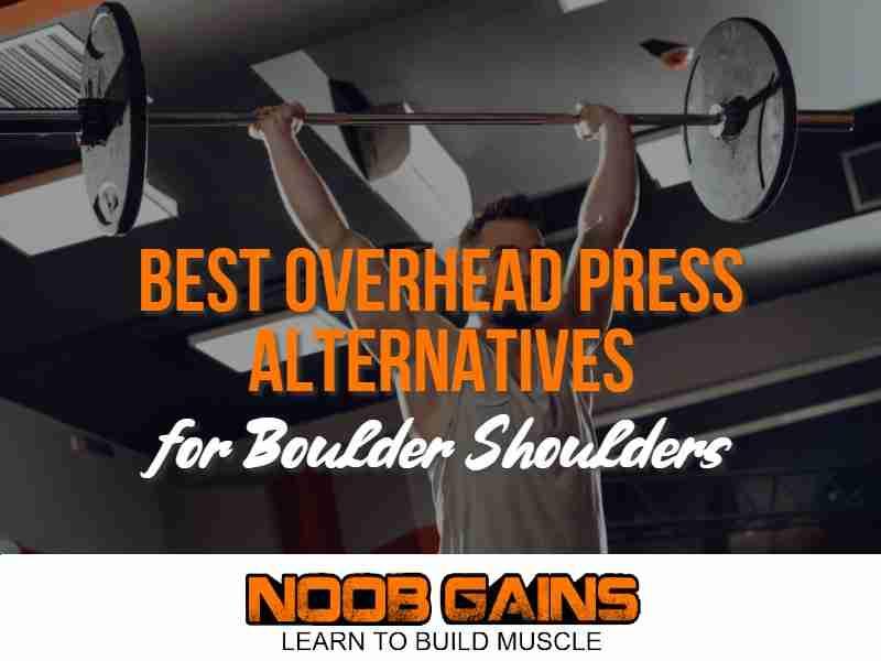 Alternative to overhead press image