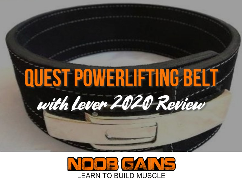 Quest powerlifting belt review image