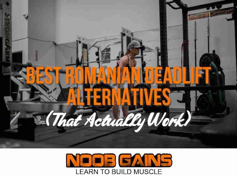 Romanian deadlift alternatives image