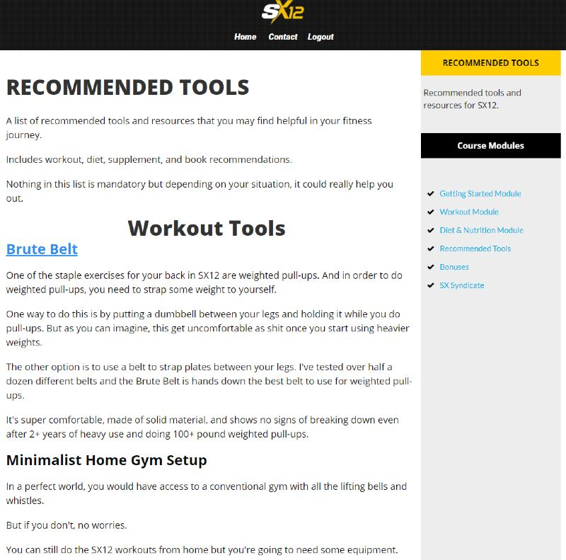 Superhero x12 recommended tools image