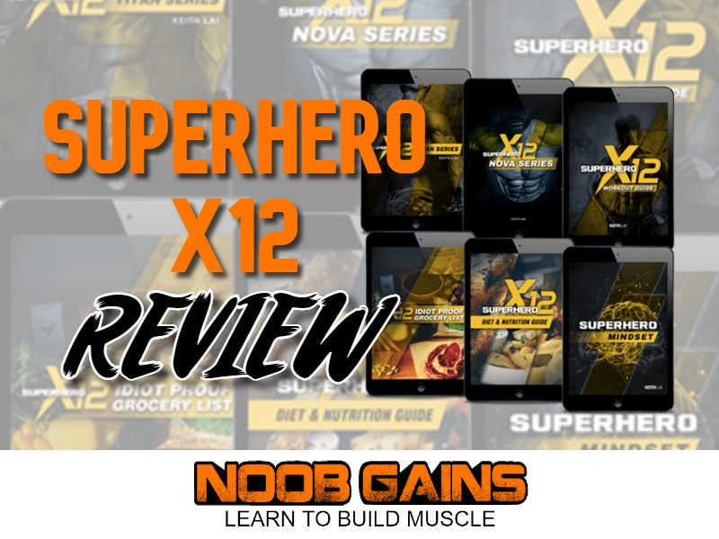 Superhero x12 review image