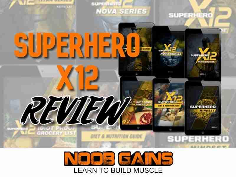 Superhero x12 review image