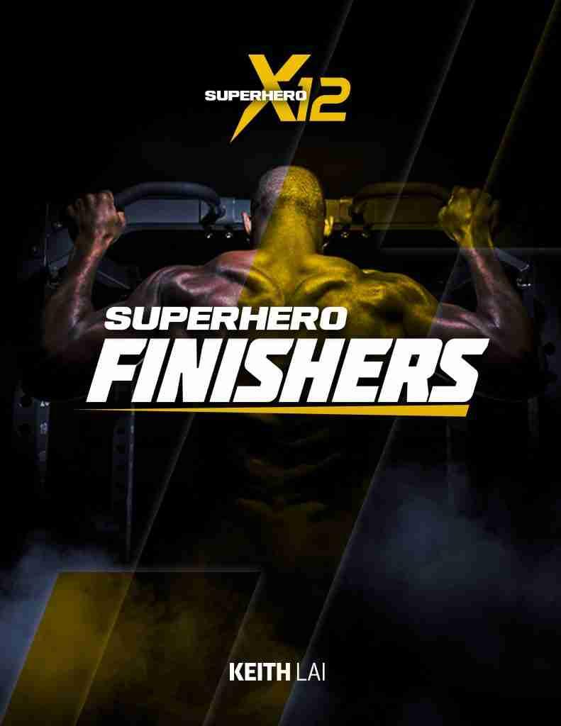 Superhero x12 superhero finishers image