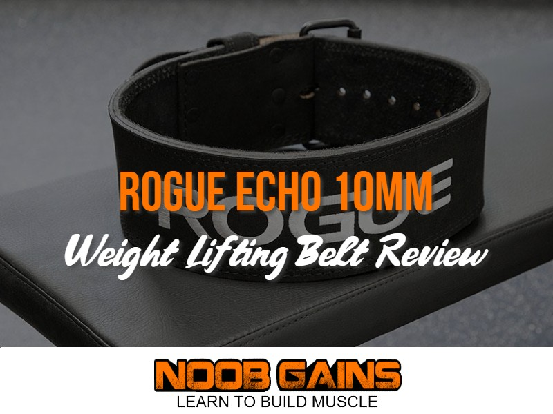 Rogue echo 10mm lifting belt image