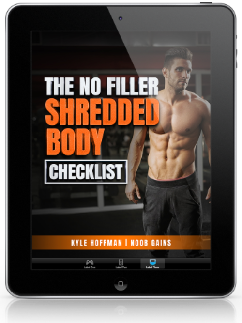 Shredded boy checklist ereader image