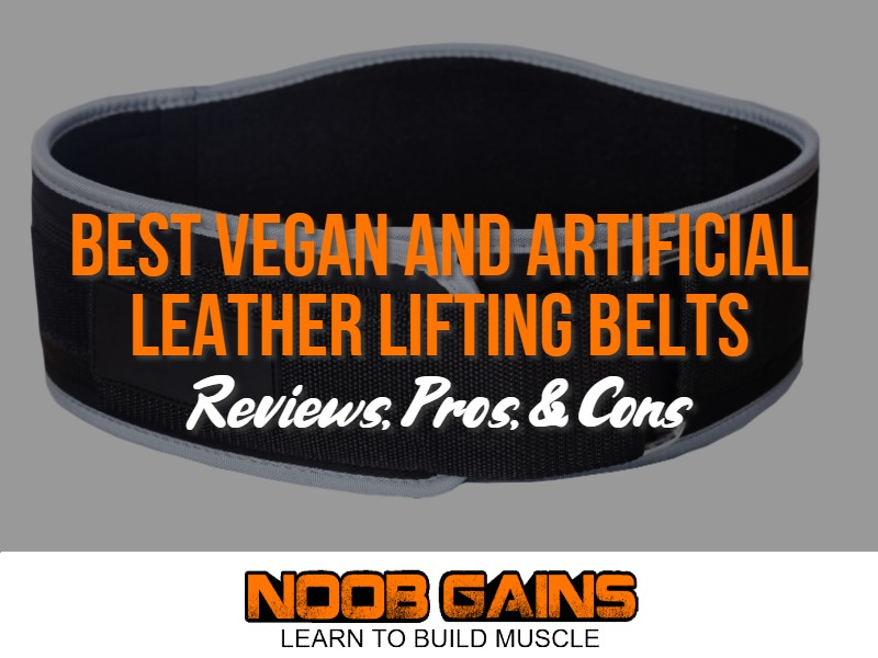 Vegan lifting belt image
