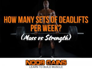 How many sets of deadlifts image