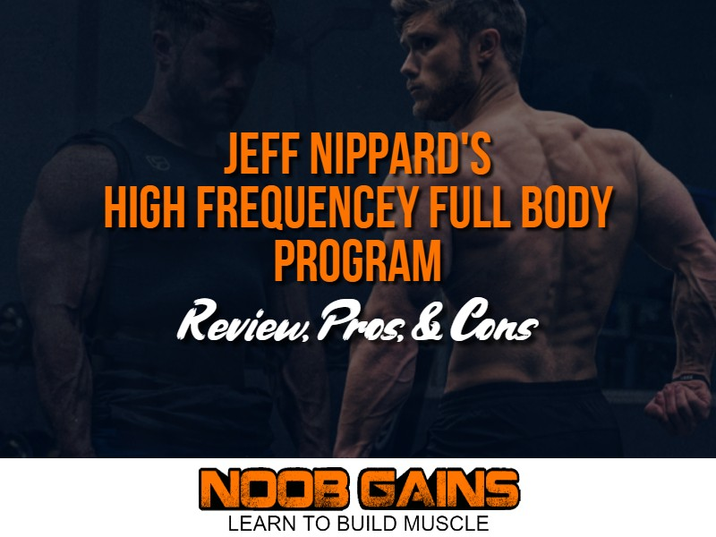 Jeff nippard full body workout image