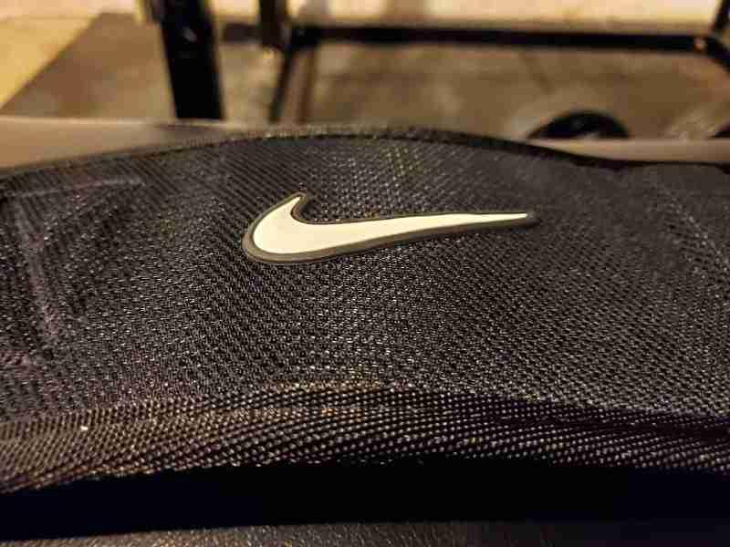 Nike structured training belt logo image