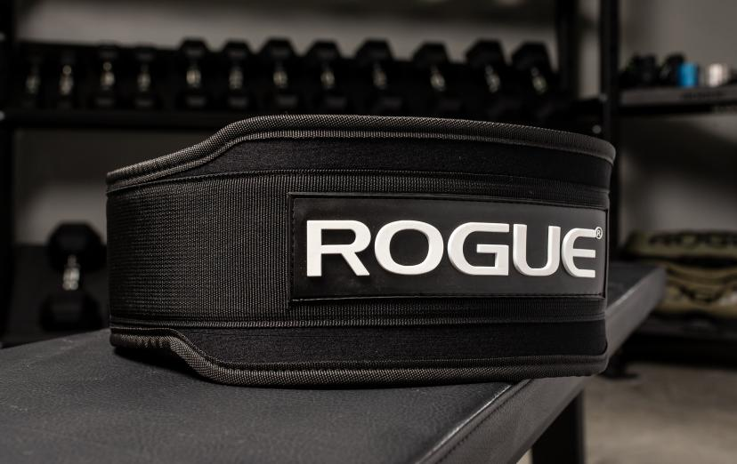 "Rogue 5"" nylon lifting belt image"