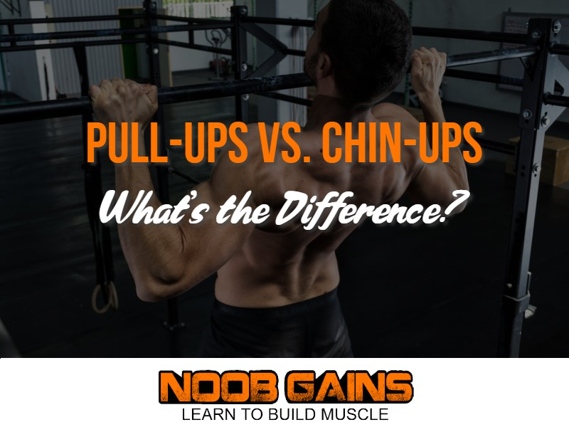 Difference between pullup and chinup image