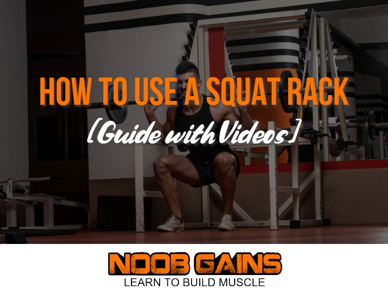 How to use a squat rack image