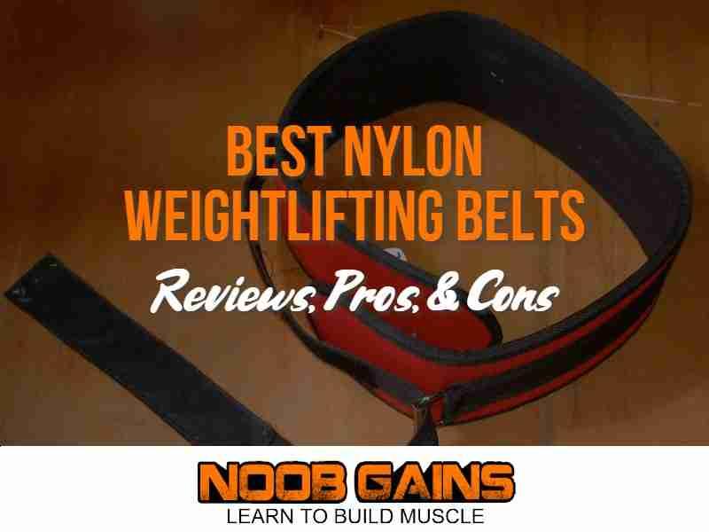 Nylon weightlifting belt image