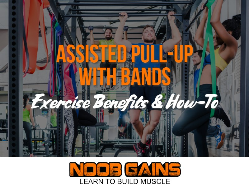 Assisted pull up with bands image