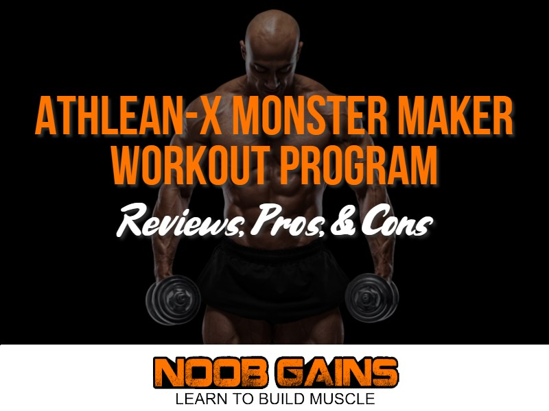 Athlean x monster maker image